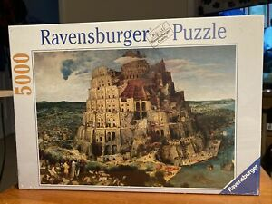 NEW TOWER OF BABEL JIGSAW 5000 PIECE RAVENSBURGER PUZZLE