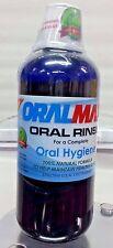 ORAL MAX ORAL RINSE HEALTHY GUMS KILLS GERMS GINGIVITIS AND BAD BREATH NATURAL