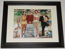 DAWN WELLS AUTOGRAPHED 8X10 COLOR PHOTO (FRAMED & MATTED) - GILLIGAN'S ISLAND!