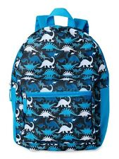 Kids Dinosaur Backpack Preschool Kindergarten School Book Bag in Blue Dino