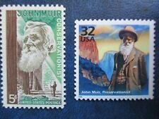 JOHN MUIR USPS Stamps