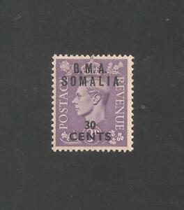 Great Britain - Somalia EAF #14 (A101) VF MINT - 1948 30c on 3p King George VI