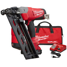 Milwaukee 2742-21CT M18 FUEL 16ga Angled Finish Nailer Kit New