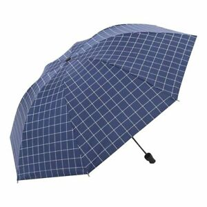 Women Non-automatic Umbrella with Dotted Design Black Coating for Sunny Days