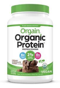 Orgain Organic Plant Based Protein Powder - Creamy Chocolate - 2.03lbs