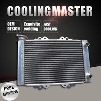 All Aluminum Radiator For ATV Kawasaki KFX450R Monster Energy 2008-2012 09 10 11