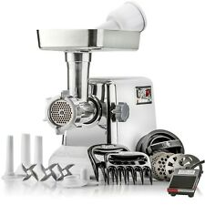 "STX Turboforce ""Platinum"" w/Foot Pedal Electric Meat Grinder & Sausage Stuffer"