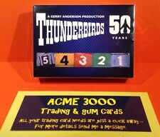 Thunderbirds 50 Years - Unstoppable Cards - Basic Base Set of 54 Cards
