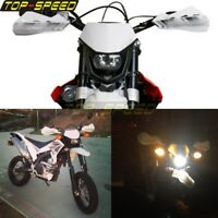 Motorcycle Dirt Bike Warriors H4 Headlight For KTM XC EXC YAMAHA HONDA SUZUKI MX