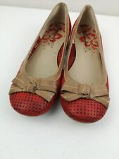 Womens TAMARIS Trend 22104 Leopard Print Low Heeled Pump With Anti Slide Soles
