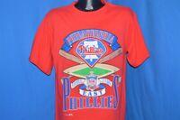 vintage 90s PHILADELPHIA PHILLIES NATIONAL LEAGUE EAST NUTMEG t-shirt BASEBALL L
