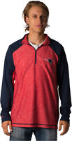 New England Patriots NFL Antigua Playmaker 1/4 Zip Pullover Jacket- Size Large