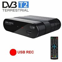DECODER DIGITALE TERRESTRE ZAPPER MAJESTIC DVB-T DEC662 HD USB REC nuovo.