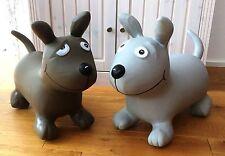 Hüpftier Hopser Hüpfer Inkl. Luftpumpe Sprungtier Hüpfhund Hund Hüpfpferd Gummi