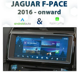Jaguar F-Pace 2017-Onward InControl Touch Android Auto & CarPlay Integration pk