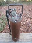 Antique Vintage Pyrene Fire Extinguisher 497 205496 Copper ***ONE OF A KIND***