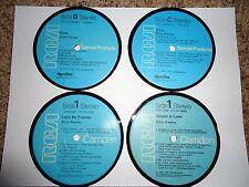 Elvis Presley - Record Album Coaster Set (Blue RCA)