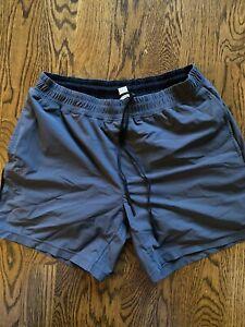 "Rhone men's versatility shorts 7"" Lined Large"