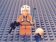 LEGO STAR WARS VINTAGE LUKE SKYWALKER PILOT 6212 (2008 FIGURE) NEW - VERY RARE