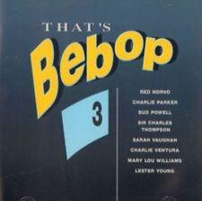 Various Jazz(CD Album)That's Bebop 3-All That's Jazz- ATJCD 11-Netherla-VG