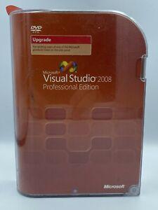 Microsoft Visual Studio Professional 2008 Upgrade SKU- C5E-00247 New Free Ship