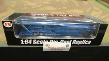 Mtb-1635 Metallic Blue 5 Car Transport Transporter Carrier Trailer 1:64 Speccast