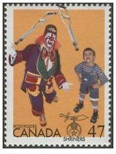 CANADA MINT ** MNH STAMP Shriners MASONIC FREEMASONRY Freemasonry