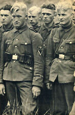 WWII B&W Photo German Soldiers in 1940  WW2 World War Two Wehrmacht  /2070