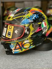 AGV Full Face Motorcycle Helmet Festival Fashion Color Carbon Fiber Made