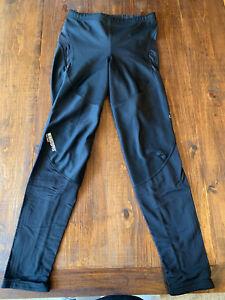 Gore Bike Wear Windstopper Soft Shell Biking Leggings, size XL