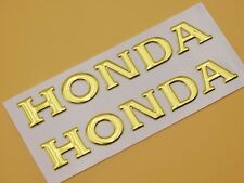 11cm Tank Fairing Fender Emblem Decal Gold for Honda CB CBR CBF RC Racing Models