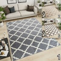 Small Extra Large Trellis Moroccan Area Rug Living Room Bedroom Soft Trendy Rugs
