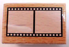 Film Frame Movies and Photography Image Studio Wooden Rubber Stamp