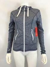 Zella Women's Gray Slim Fit Light Workout Sweater Sz XS $98 I617