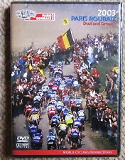 2003 Paris - Roubaix World Cycling Productions 2 DVD set Van Petegem Very Clean