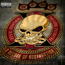 A Decade of Destruction Parental Advisory by Five Finger Death Punch.