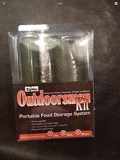 ZipVac Outdoorsman Kit Portable Food Storage System Zip Vac Save Retail $39.99