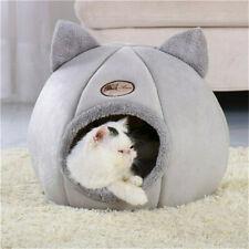 Warm Hunde Katzen Höhlennest Haustier Katzen Nest Haus Bett Katzenhöhle Größe XL