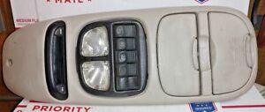 1999-2005 Chevrolet Venture Montana Overhead Console w/ Map Lights & Display