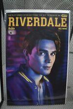 Riverdale #6 Photo CW TV Show Cover Archie Comics 2017 Betty Veronica 9.2