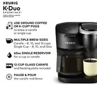 Keurig K35 K-Compact Single-Serve K-Cup Pod Coffee Maker ...
