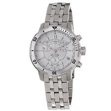 Tissot Men's PRS-200 Silver Dial Stainless Steel Quartz Watch T0674171103100