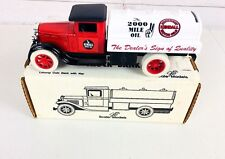 """ERTL Kendall Motor Oil """"1931 Tanker,Diecast Coin Bank Rare from 1992 GB 4073 USA"""