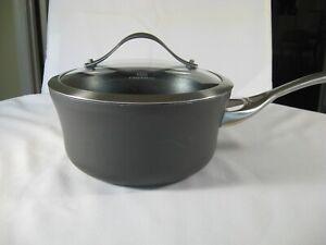 Calphalon Hard Anodized Nonstick 2 1/2 quart Sauce Pan with Lid