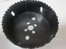 "~ 3-3/4"" ~ BI-METAL HIGH SPEED STEEL BLACK 95mm HOLE SAW METAL / WOOD CUTTING"