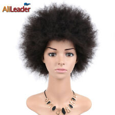Full Afro Wig Short Fluffy Curly Hair Wig Synthetic African American Wig Color#2