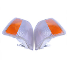 2x Front Parking Corner Light Signal Lamp Cap Cover For Volvo 740 940 960 92-95