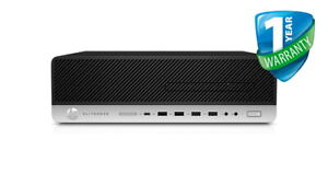 HP EliteDesk 800 G4 SFF PC Intel Core i7-8700 16GB RAM 240GB SSD Windows 10 Pro