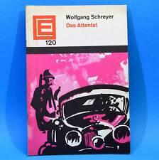 DDR Erzählerreihe 120 Das Attentat | Wolfgang Schreyer 1966