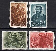 Hungary - 1944 Lajos Kossuth - Mi. 745-48 MH